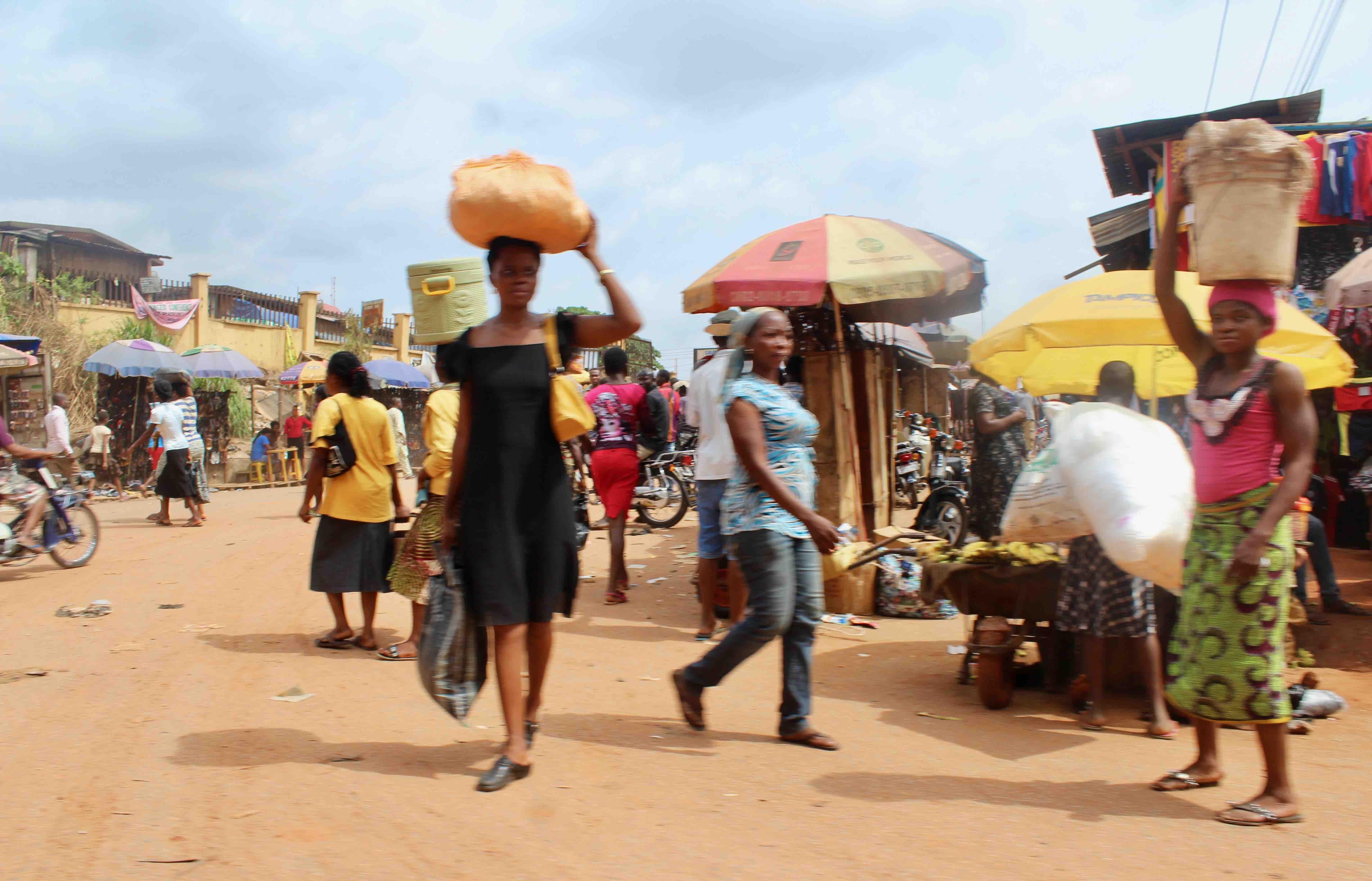 Igbo Women, Nkpor Market in Onitsha, Anambra State, Nigeria. #JujuFilms