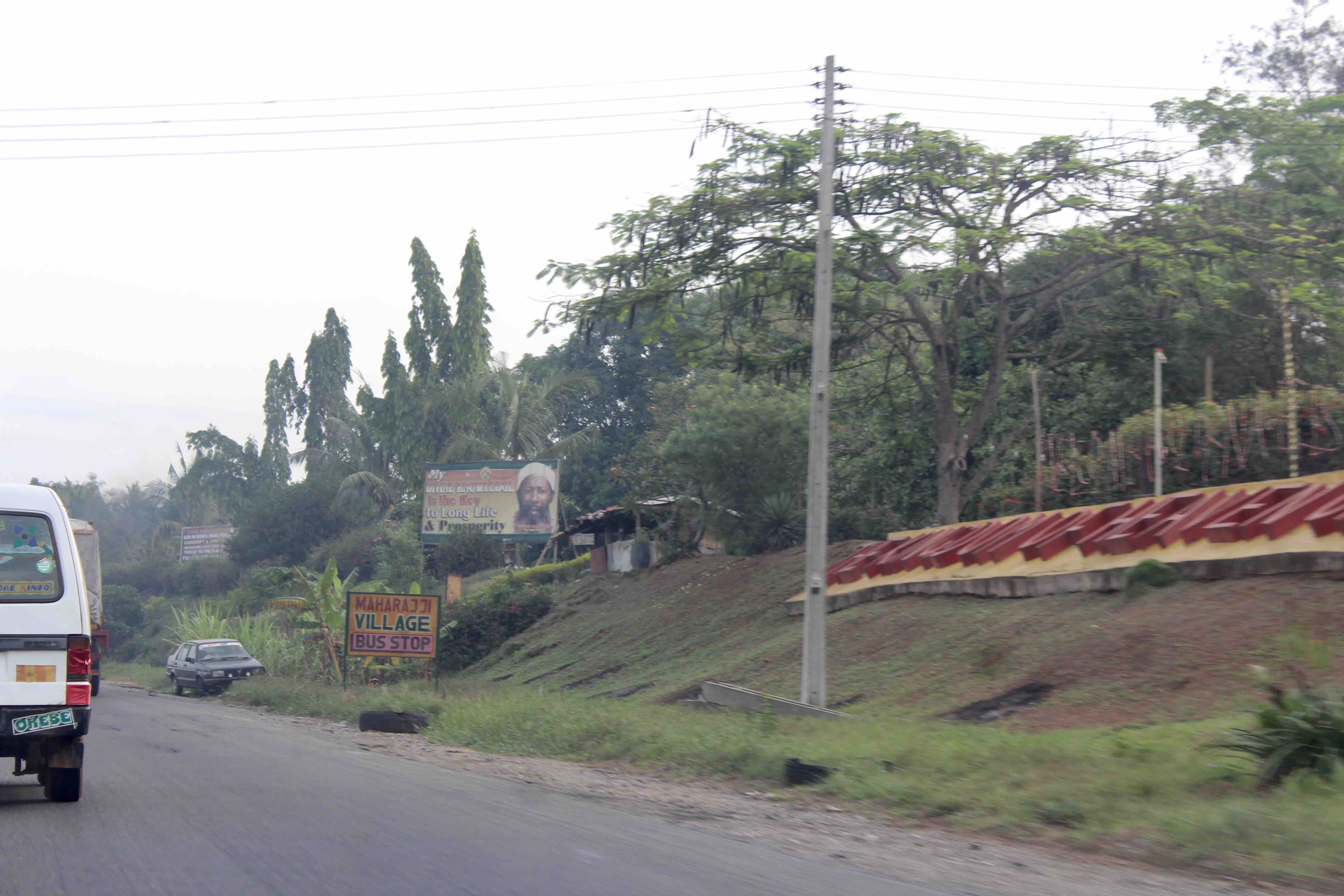 Guru Maharaj Ji Bus Stop, Lagos-Ibadan Expressway, Ibadan, Oyo State, Nigeria. #JujuFilms