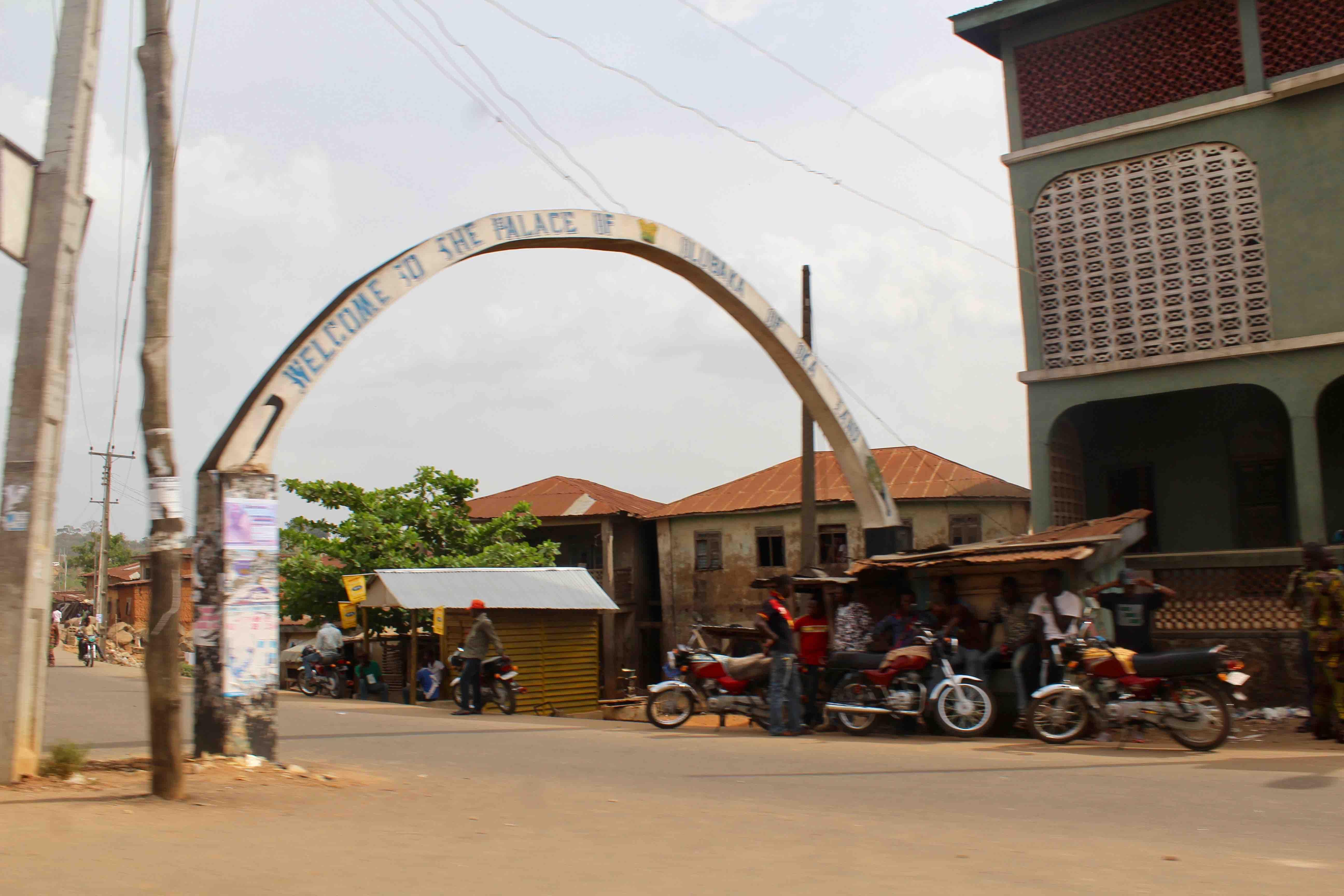 Palace of The Olubaka of Oka, Oka Akoko, Ondo State, Nigeria. #JujuFilms
