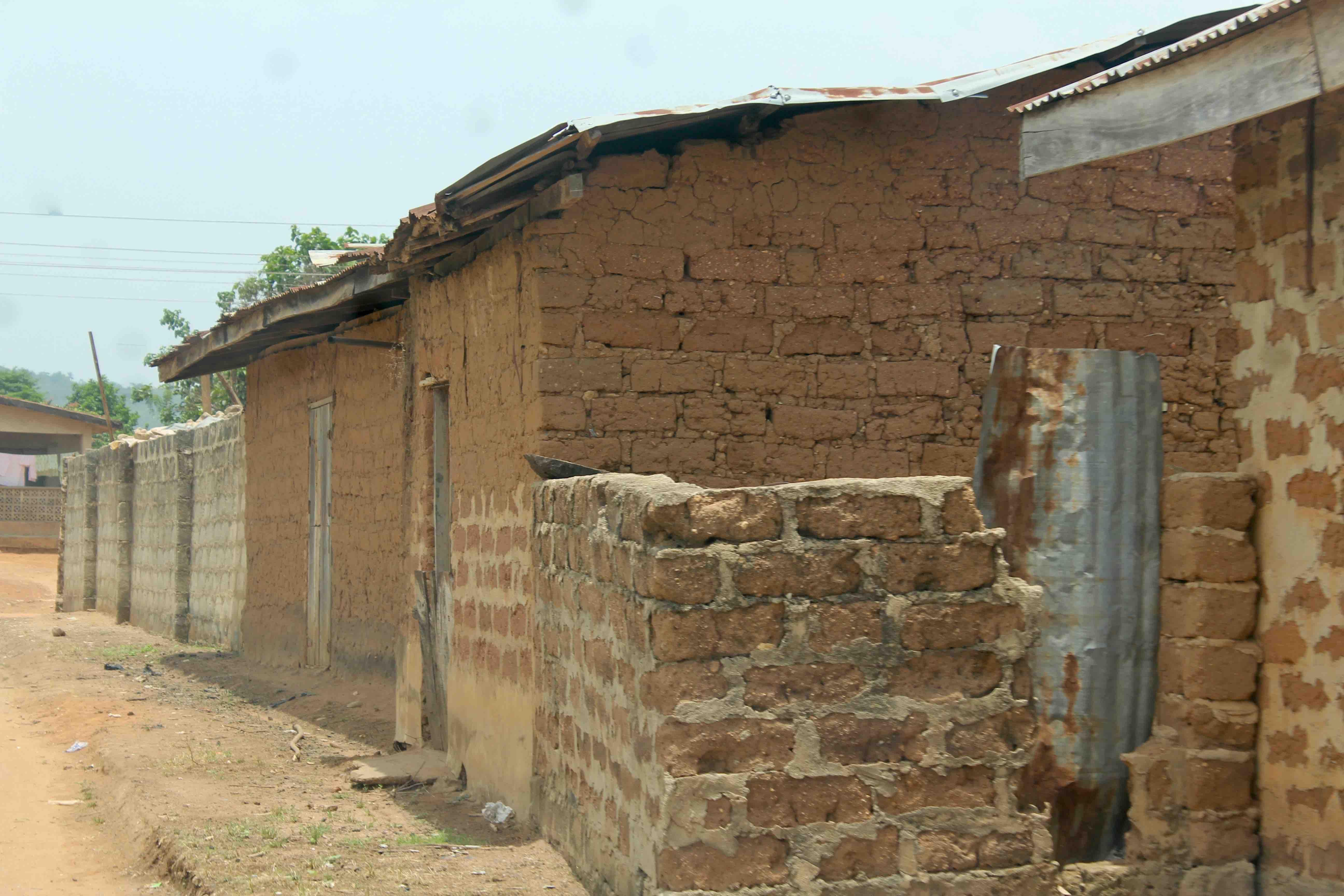 Mud Brick House, Erin Oke, Osun State, Nigeria. #JujuFilms
