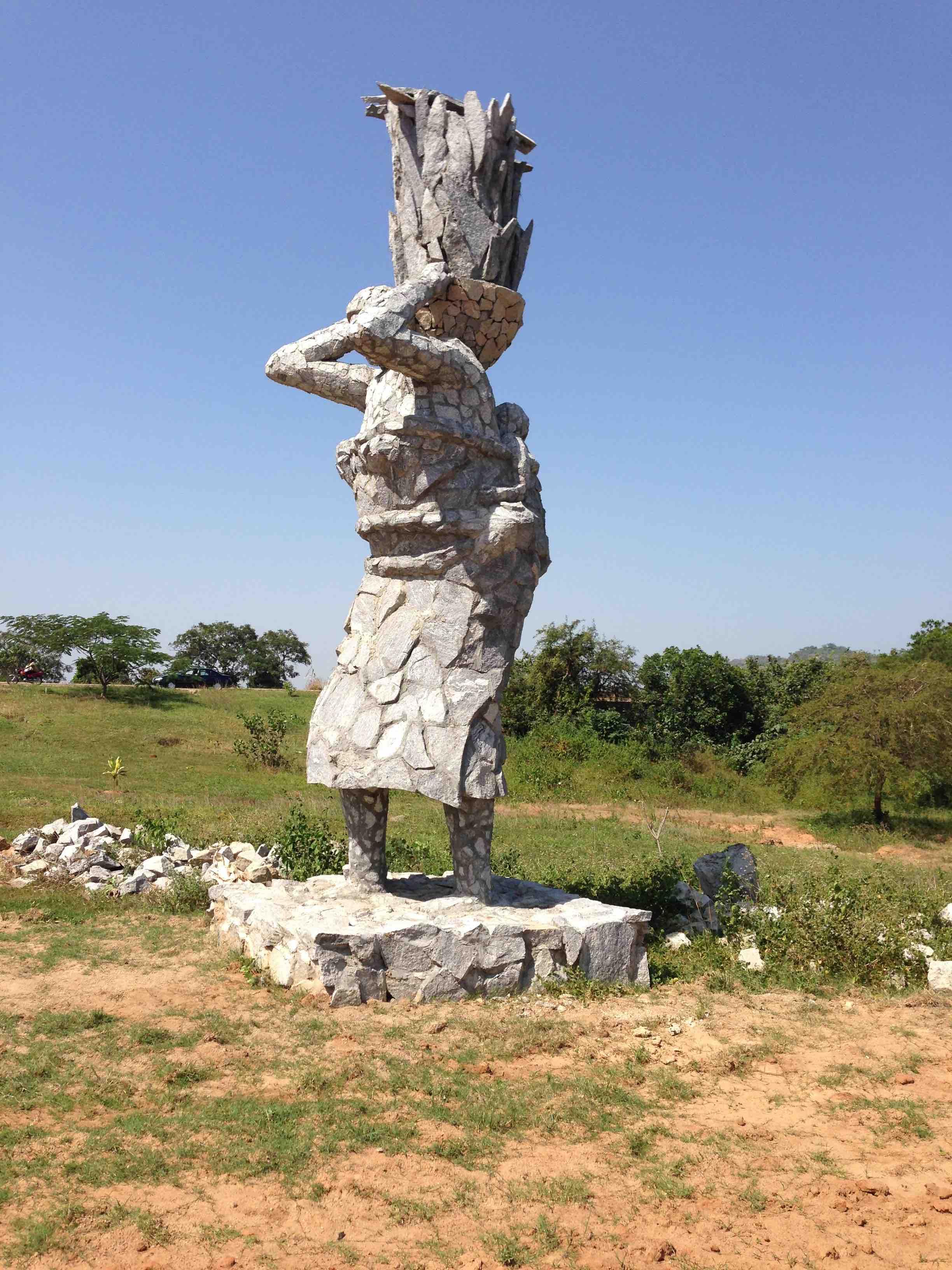 Gbagyi Woman Statue