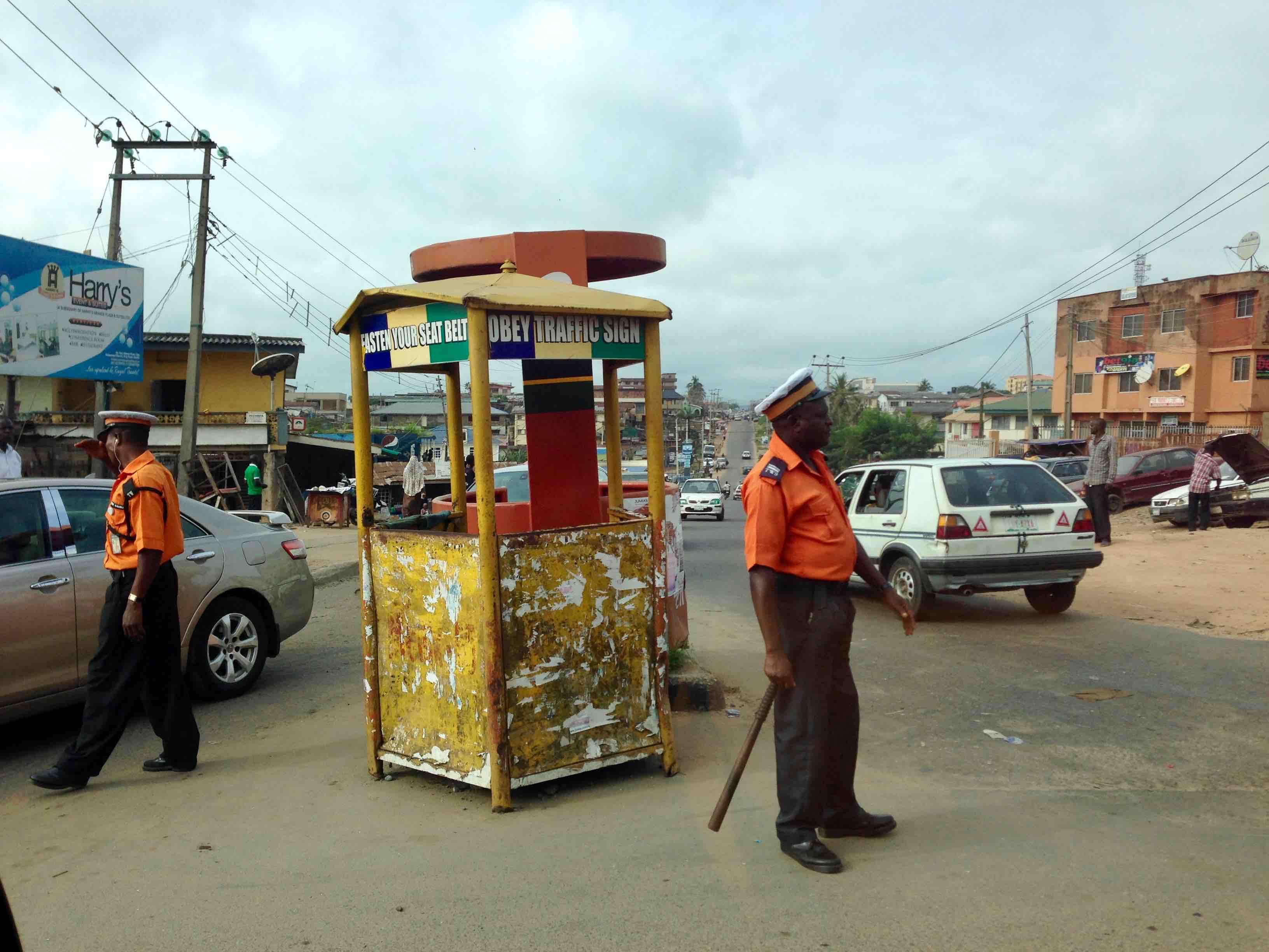 Traffic Wardens, Ring Road, Ibadan, Oyo State, Nigeria, #JujuFilms