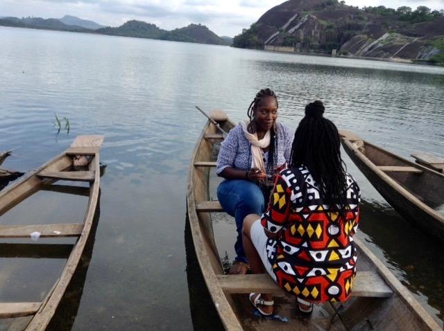 Canoeing on Usuma Lake, Ushafa Village, FCT, Abuja, Nigeria, #JujuFilms