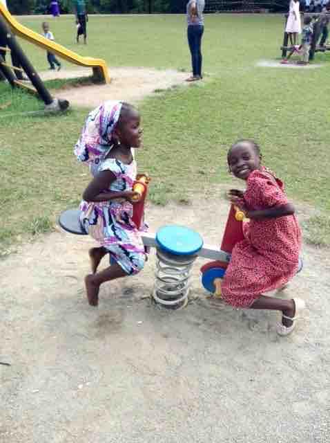 Children playing @ Millennium Park, FCT, Abuja, Nigeria, #JujuFilms